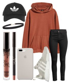 """Chill"" by jadenriley21 on Polyvore featuring H&M, Topshop, adidas and Humble Chic"