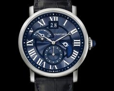Rotonde de Cartier Second Time-Zone Day/Night watch