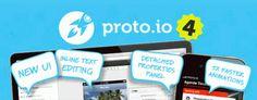 Nueva versión de Proto.io, la aplicación para crear prototipos de aplicaciones móviles