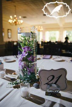 Sylvania Country Club Under the Sea themed wedding - Photos by Luckybird Photography