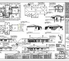 3 bedroom house plans with an open plan. Browse one story floor plans to modify or configure to suit your own taste. Quality South African home designs 6 Bedroom House Plans, 4 Bedroom House Designs, Garage House Plans, Double Storey House Plans, Double Story House, Free House Plans, Modern House Plans, House Construction Plan, African House
