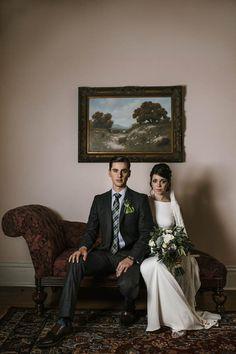 Romantic Austin, TX Garden Wedding at The Allan House