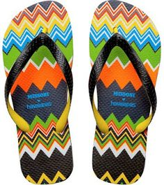 60660e46ac6580 Havaianas by Missoni  beach sandals go couture for the 2011 summer