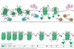 Fingerabdrücke: Froschkonzert!