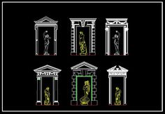 http://goo.gl/OsuCwd 25000 AutoCAD Blocks & Drawings All products can be downloaded IMMEDIATELY! ★【European Classical elements Blocks】★AutoCAD Blocks & Drawings,CAD Details,Furniture Blocks,Architecture Drawings,Interior Design,Download ...