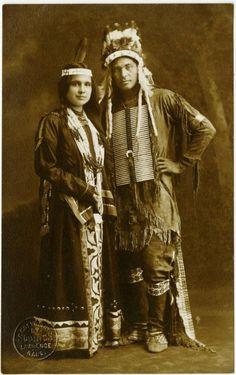 d48fdcc2 Moon Beam, Strong Arm - Potawatomi - 1909 Potawatomi call themselves  Neshnabé meaning