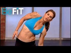Jillian Michaels: Standing Abs Workout is a short abdominal exercise circuit that is designed to sculpt six pack abs, strengthen the core, burn calories, and tone the oblique muscles. Blast belly fat, slim the waistline and get shredded for summer with America's Toughest Trainer, Jillian Michaels. Try this unique ab workout anywhere and transfor...