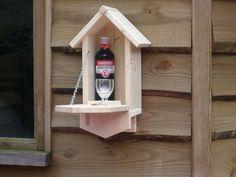 Vogelhuisjes - vogelhuisje drank met Berenburg - Een uniek product van Meubelmakerij-beertje op DaWanda