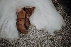 @claudiaweaverphotography posted to Instagram: A bride with a special style. #bride #weddingdress #instabride #couture #weddingideas #weddinggown #cowboyboots #cowboywedding #bridaldress #dreamwedding #weddinginspiration #weddingphotography #creativewedding #kreativhochzeit