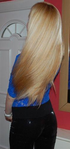 Goal length for my blonde hair :)
