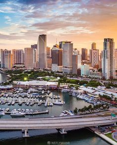 Downtown Miami. USA