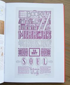 Ladies of Letterpress book, featuring the Dead Feminists series by Chandler O'Leary and Jessica Spring