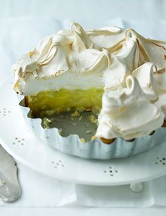 Grapefruit meringue pie - This twist on a classic family favourite certainly packs a fruity punch