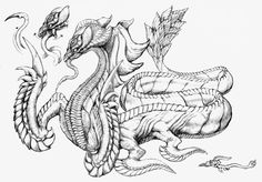 Basilisk (Final Fantasy X) Tetsuya Nomura, Little King, Final Fantasy X, Greek Gods, Asian Style, Mythical Creatures, Amazing Art, Beast, Geek Stuff