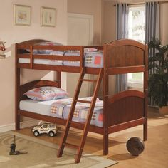 Coaster Bunk Bed Twin over Twin - @ Home Furnishings of Florida Corp