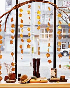 How gorgeous is this new window display by our sales associate and stylist…