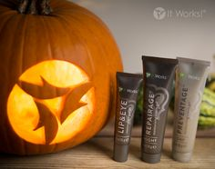 Getting closer to Halloween! Here's three products the, lip eye, repairage, and the preventage. #Halloween #Wraptastic #GallowayQuest 717-440-0744