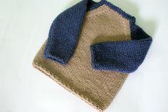 Knit Sweater Toddler Sweater Knit Boys Sweater by BambinoStore