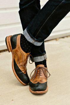 El mejor street-style de la semana . . . wing tip