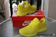 brand new 492bf a8e23 Nike Air Presto QS Yellow Yellow Nikes, Yellow Sneakers, Grey Nikes, Shoes  Sneakers