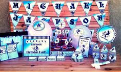 Inspired By Michael Jackson Birthday Party Decorations | Printable Supplies