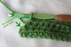 Tutorial: Maintaining Straight Crochet Edges and Ends...I always make this mistake, hope this helps.
