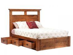 amish redmond platform bed