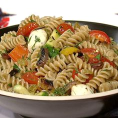 the chew | Recipe  | Daphne Oz's Perfect Pot Luck Pasta Salad