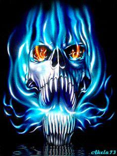 Free skulls burning on fire animated gifs - best flaming skull animation collection. Ghost Rider Wallpaper, Skull Wallpaper, Dark Fantasy Art, Dark Art, Fire Animation, Grim Reaper Art, Skull Stencil, Flame Art, Ghost Rider