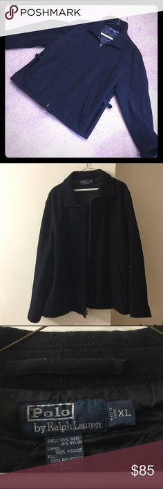 **FINAL PRICE **Polo by Ralph Lauren Wool  Jacket Men's Ralph Lauren Wool Bomber Jacket (90%wool) Polo by Ralph Lauren Jackets & Coats Bomber & Varsity