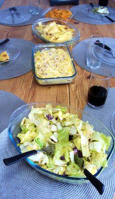 @TiaCris :P Salada - Massas - Pierogi