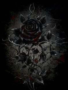 Angel After Dark. Top Gothic Fashion Tips To Keep You In Style. Consistently using good gothic fashion sense can help Dark Gothic Art, Gothic Artwork, Gothic Wallpaper, Gothic Fantasy Art, Fantasy Kunst, Flower Wallpaper, Black Roses Wallpaper, Beautiful Dark Art, Beautiful Roses