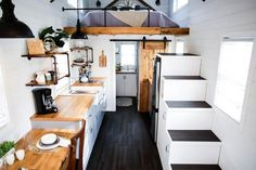 Tiny House Interior - Modern Take Two by Liberation Tiny Homes