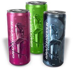 Grasshopper  Energizer Energy Drink,