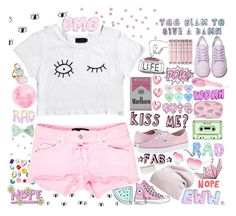 """""""Pastel"""" by emma-545 ❤ liked on Polyvore featuring Religion Clothing, Shellys, Isabel Marant, Charlotte Russe, Vans, Forever 21, Phase 3, American Apparel, H&M and Afends"""