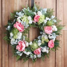 Spring Easter Wreath Ideas So Inspired Give guests a warm, cheery welcome this season with one of these gorgeous spring wreath . cover your front door Spring Blooms, Spring Flowers, Tulip Wreath, Flower Wreaths, Hydrangea Wreath, Easter Wreaths, Spring Wreaths, Summer Wreath, Diy Wreath