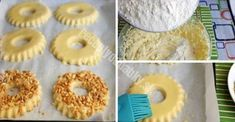 Recept na lahodné cookies podle GOST - interesno. Russian Desserts, Russian Recipes, Fererro Rocher, Eggless Cookie Recipes, Cookie Dough Dip, Super Cookies, Czech Recipes, Puff Pastry Recipes, Croatian Recipes