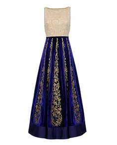 Regal Purple Anarkali Suit with Sequin Embellishment