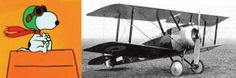 Where would Snoopy be without his Sopwith Camel? In 1912, 24-year-old Thomas Sopwith of Great Britain founds the Sopwith Aviation Company. His most celebrated plane, the Sopwith Camel, is a single-seat fighter that shoots down 1,294 enemy planes in World War I.