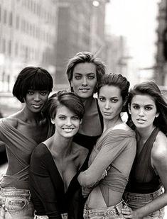 era of THE 90s supermodels.