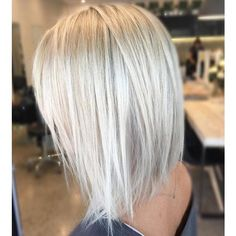 Hair straightening! Shiny ashy beach ready blonde! Color by... ❤ liked on Polyvore featuring beauty products, haircare, hair color and hair