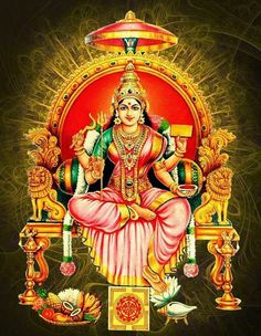 Amman or Aatha is a form of Hindu Mother Goddess Adi Shakti. She is widely worshiped in the South Indian states. Shiva Hindu, Hindu Deities, Shiva Art, Shiva Shakti, Hindu Art, Krishna, Durga Maa Pictures, Durga Images, Lakshmi Images