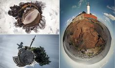Photographer transforms British parks and beaches into planets