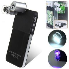 Professional 60X Magnifier Microscope for iPhone 4/4S $4.15