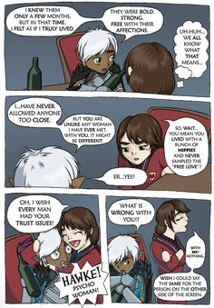 DAII - Fenris's Trust Issues by Sandy87.deviantart.com on @deviantART