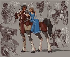 Rhea and Lucia - Character sketches by on DeviantArt Character Sketches, Female Character Design, Character Design Inspiration, Character Illustration, Character Concept, Character Art, Character Ideas, Dnd Characters, Fantasy Characters