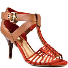 Casual and cute are just a few to describe this alluring sandal from Guess.