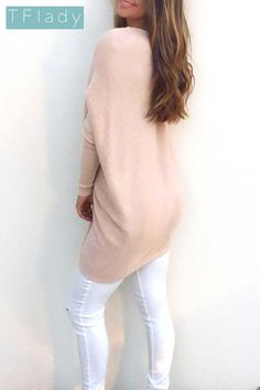 4f52c542a20 Womens Bat Sleeve Vneck Lightweight Sweater Pink Tag    You can find more  details by visiting the image link.