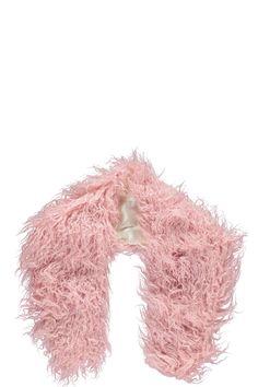 Jordanne Mongolian Faux Fur Scarf alternative image
