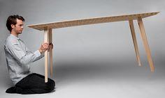 world's lightest table